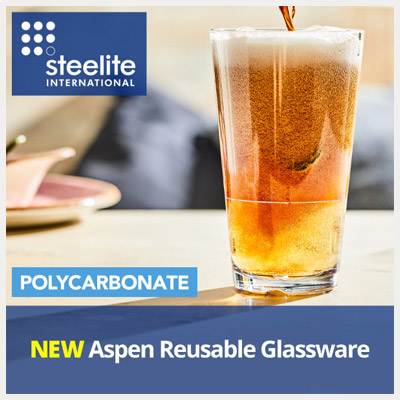 NEW Steelite Aspen Reusable Polycarbonate Glassware