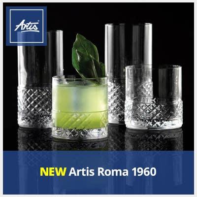 NEW Artis Roma 1960 Glassware