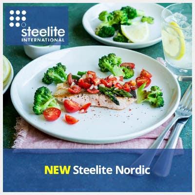 NEW Steelite Nordic Coupe Plates