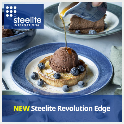 NEW Steelite Revolution Edge