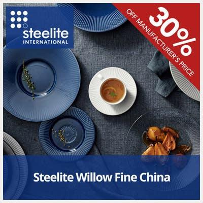 30% Off Steelite Willow