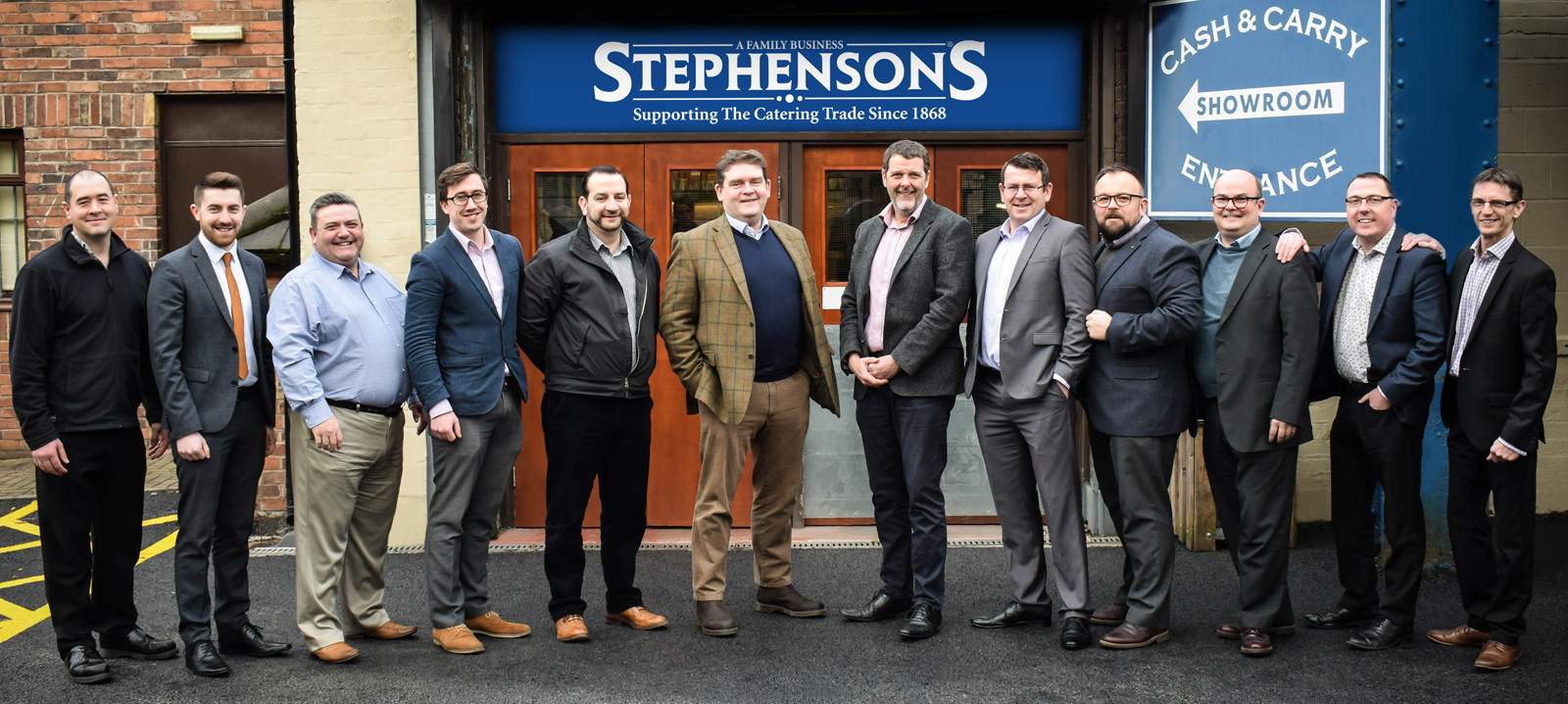 The Stephensons Field Sales Team