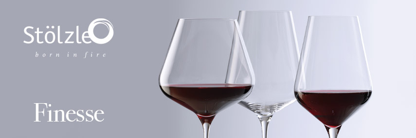Stolzle Finesse Premium Wine Glasses from Stephensons Catering Suppliers
