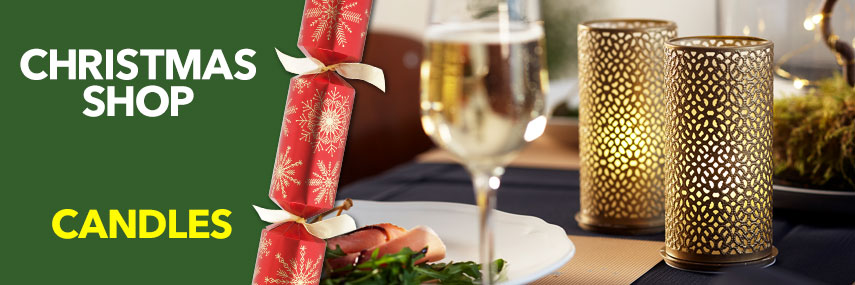 Christmas Candles and Accessories from Stephensons Catering Suppliers