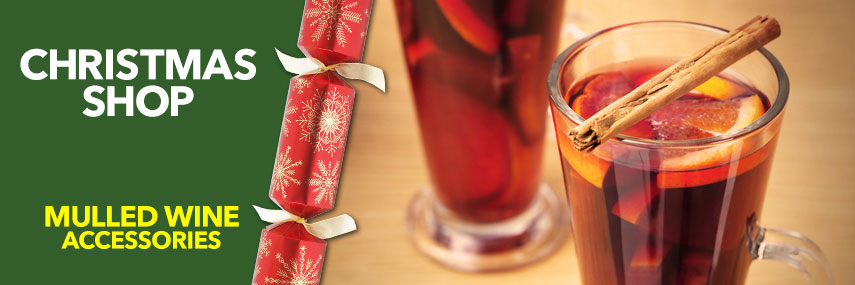Mulled Wine Accessories from Stephensons Catering Suppliers